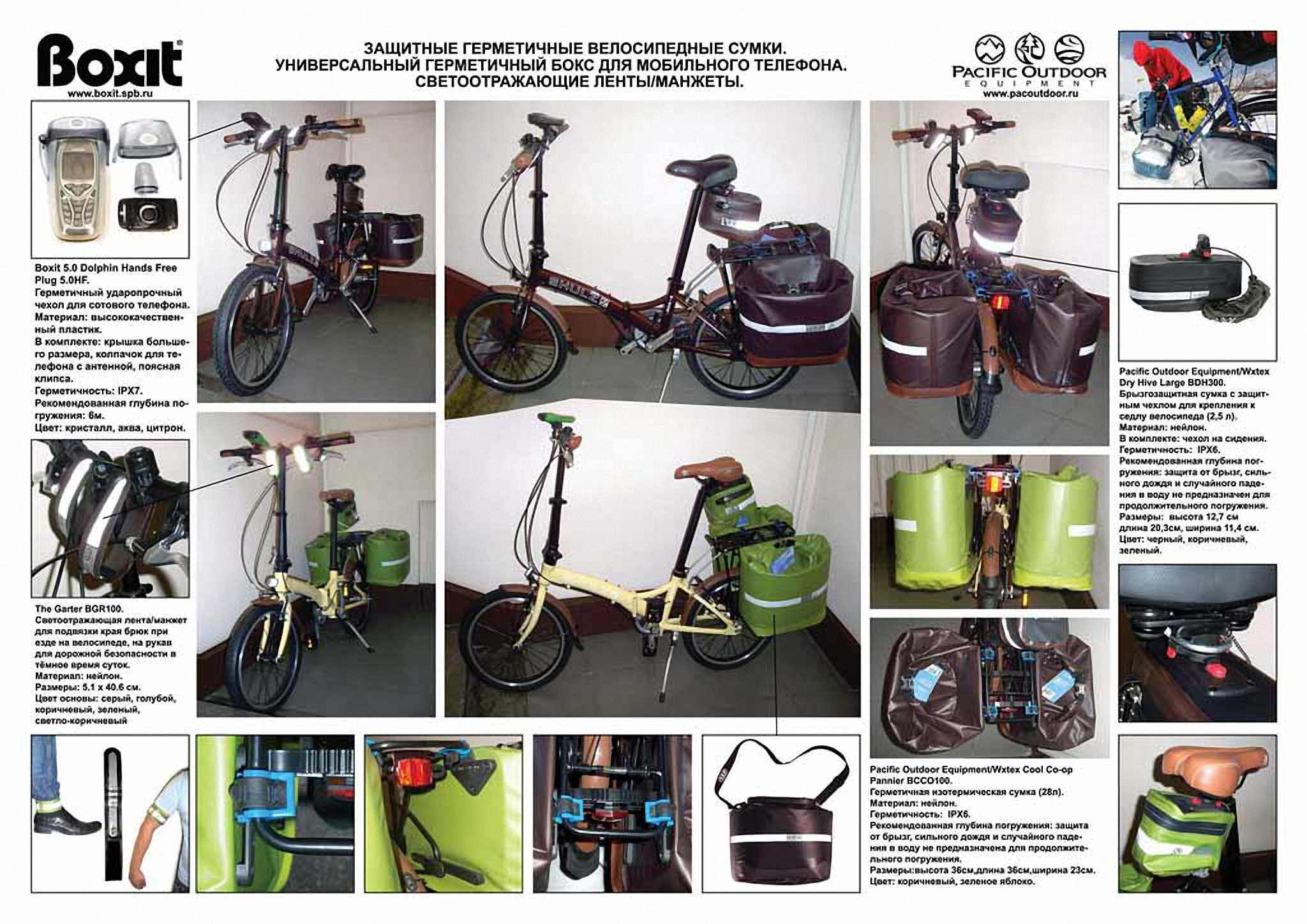 Водонепроницаемая сумка Pacific Outdoor Equipment / Wxtex Co-op Pannier Apple - 28L. Фото 2