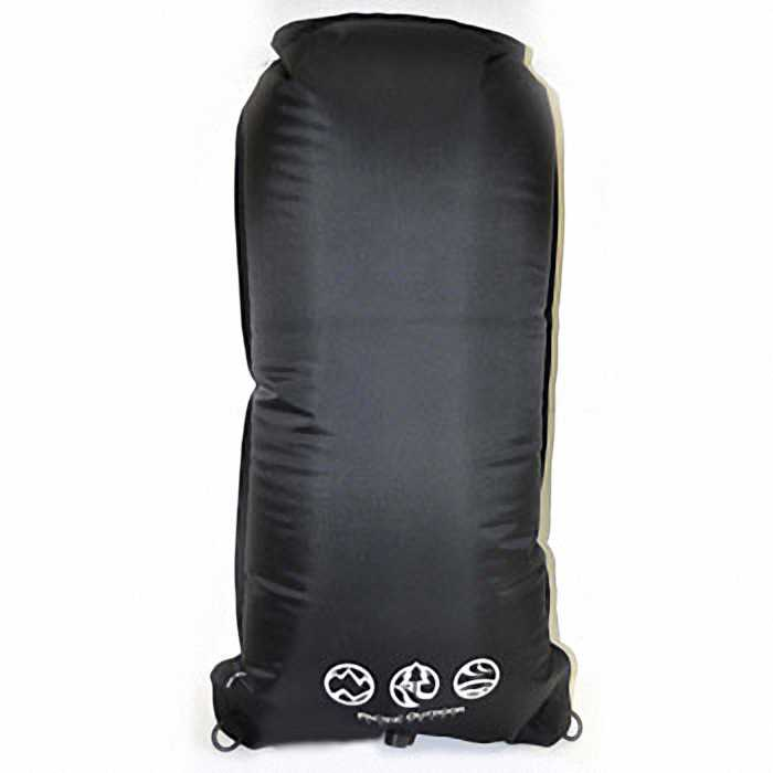 Водонепроницаемый гермомешок Pacific Outdoor Equipment/Wxtex DS50BK - Dry Sack Black - 50L (Black)
