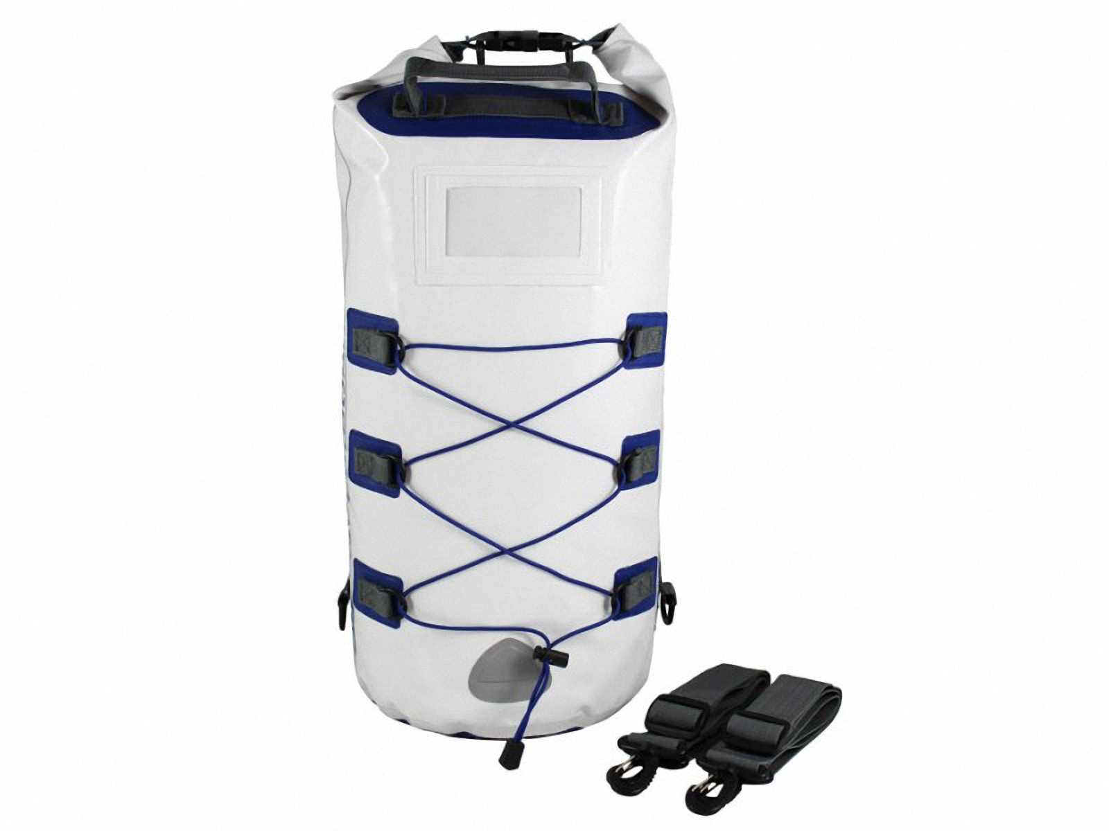 Водонепроницаемый рюкзак OverBoard OB1016WHT - Waterproof Boat Master Dry Tube - 20 Litres. Фото 4