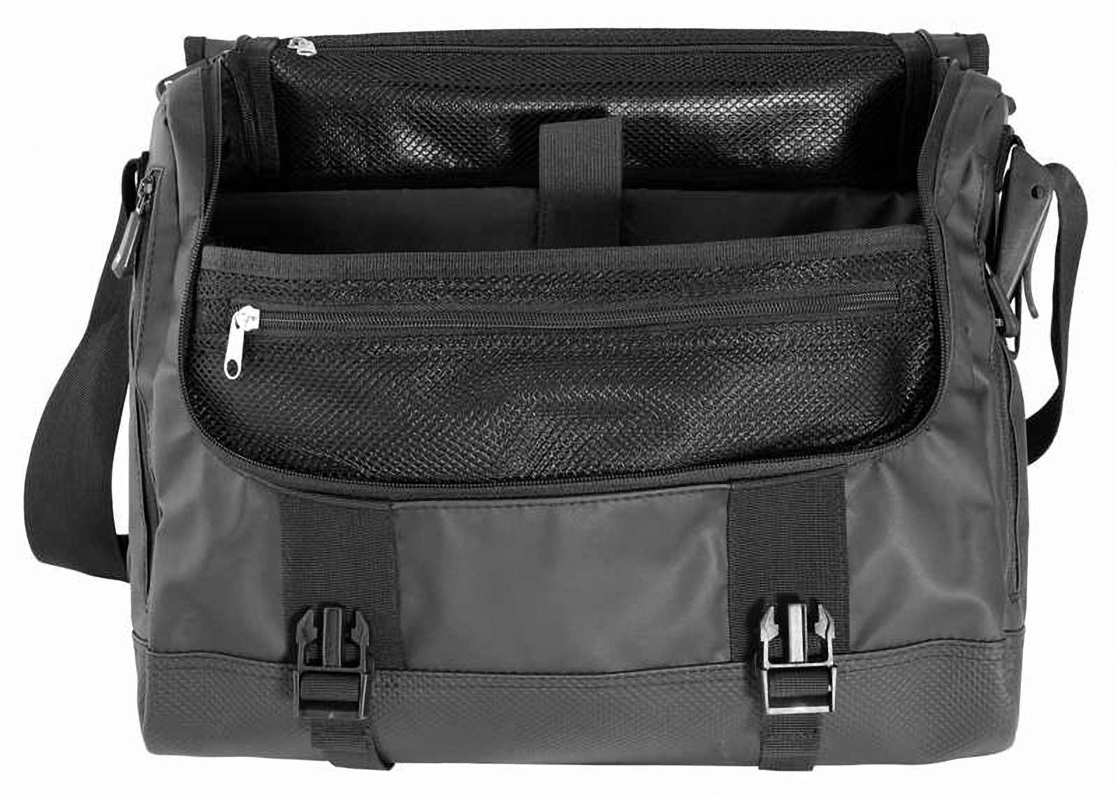 Водонепроницаемая сумка OverBoard OB1079BLK - Waterproof Adventure Messenger Bag. Фото 3