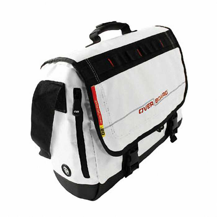 Водонепроницаемая сумка OverBoard OB1079WHT - Waterproof Adventure Messenger Bag