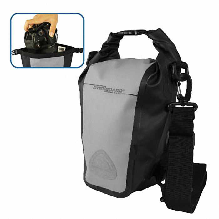 Водонепроницаемая сумка OverBoard OB1087BLK - Waterproof SLR Camera Bag - 7L (Grey)