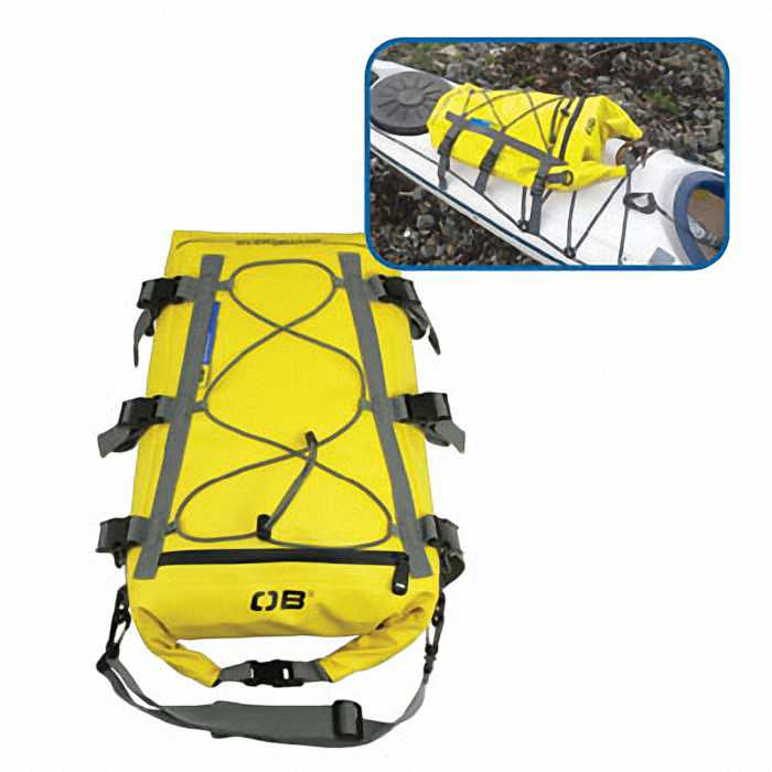 Водонепроницаемая сумка OverBoard OB1094Y - Waterproof Kayak Deck Bag - 20L