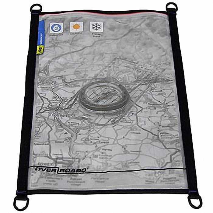 Водонепроницаемый чехол OverBoard OB1105BLK - Waterproof Map / Document Pouch - Large