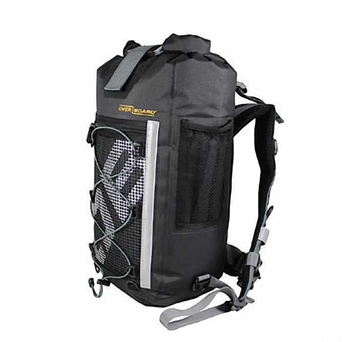 Водонепроницаемый рюкзак OverBoard OB1135BLK - Ultra-light Pro-Sports Waterproof Backpack - 20L (Black)