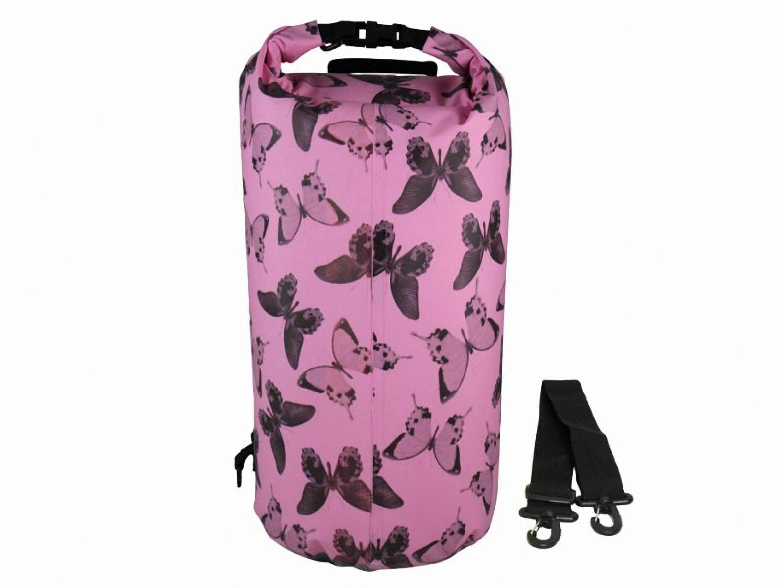 Водонепроницаемая сумка OverBoard US1005P-Butterfly - Waterproof Dry Tube Bag - 20L. Фото 2