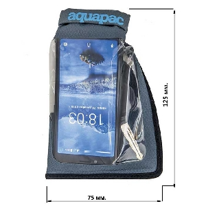 Водонепроницаемый чехол Aquapac 045 - Small Stormproof Phone Case (Cool Grey)