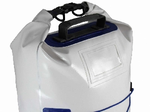 Водонепроницаемый рюкзак OverBoard OB1017WHT - Waterproof Boat Master Dry Tube - 40 Litres. Фото 4