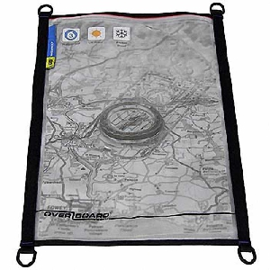 Водонепроницаемый чехол OverBoard OB1105BLK - Waterproof Map / Document Pouch - Large.