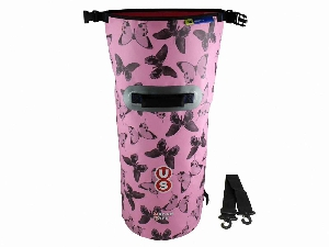 Водонепроницаемая сумка OverBoard US1005P-Butterfly - Waterproof Dry Tube Bag - 20L. Фото 3