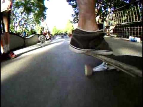 Skateboard Mounted Helmet HERO Wide.flv