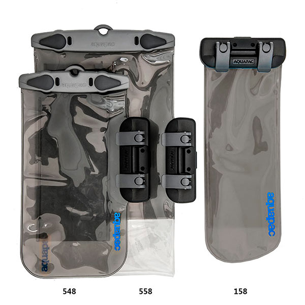 Водонепроницаемый чехол Aquapac 154 - Connected Electronics Case (Light Blue)