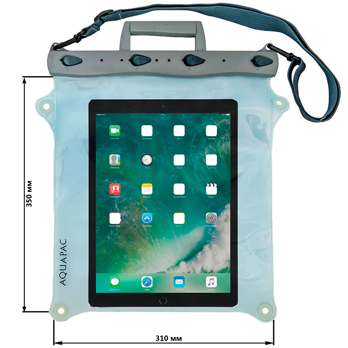 Водонепроницаемая сумка Aquapac 674 - Jambo Whanganui Electronics Case (Light Blue)
