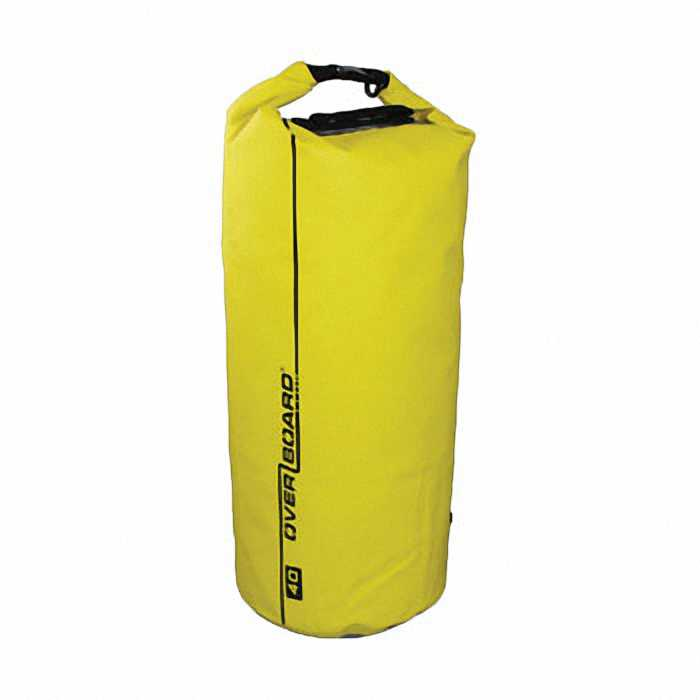 Водонепроницаемая сумка OverBoard OB1007Y - Waterproof Dry Tube Bag - 40L.