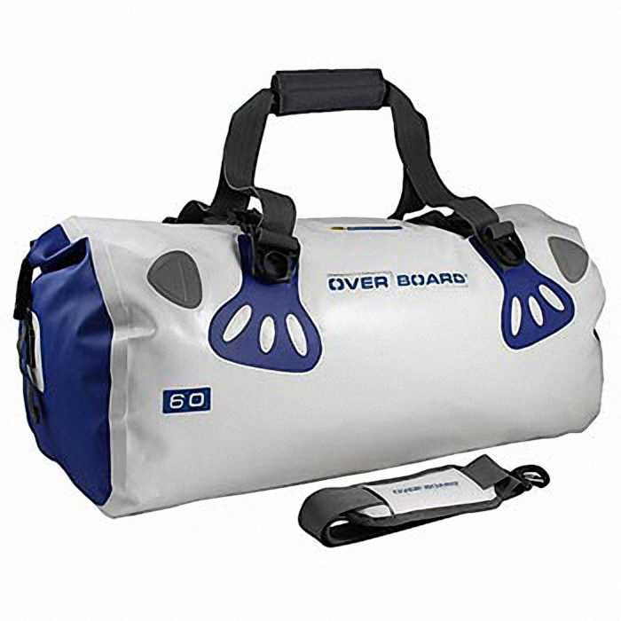 Водонепроницаемая сумка OverBoard OB1013WHT - Waterproof Boat Master Duffel Bag - 60 Litres (White)