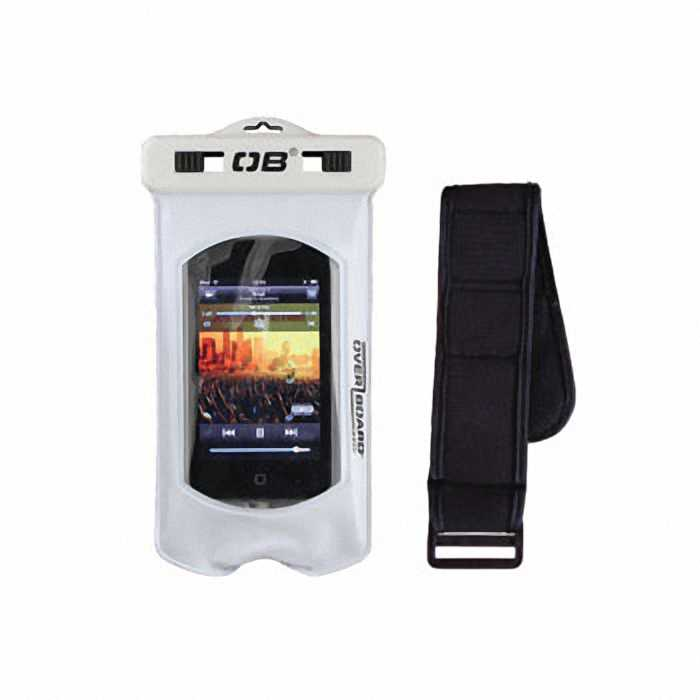 Водонепроницаемый чехол OverBoard OB1027WHT - Pro-Sports Waterproof iPod / MP3 Case.