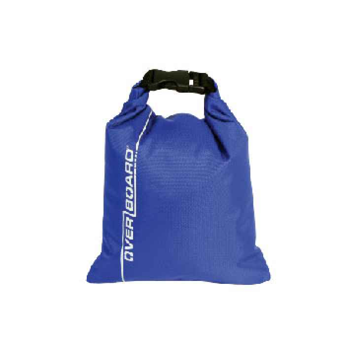 Водонепроницаемый гермомешок OverBoard OB1031B - Waterproof Dry Pouch - 1L (Blue)