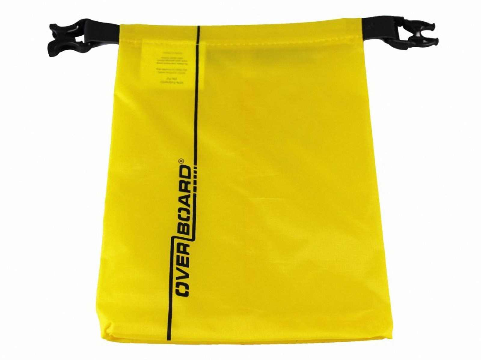 Водонепроницаемый гермомешок OverBoard OB1031Y - Waterproof Dry Pouch - 1 L. Фото 4