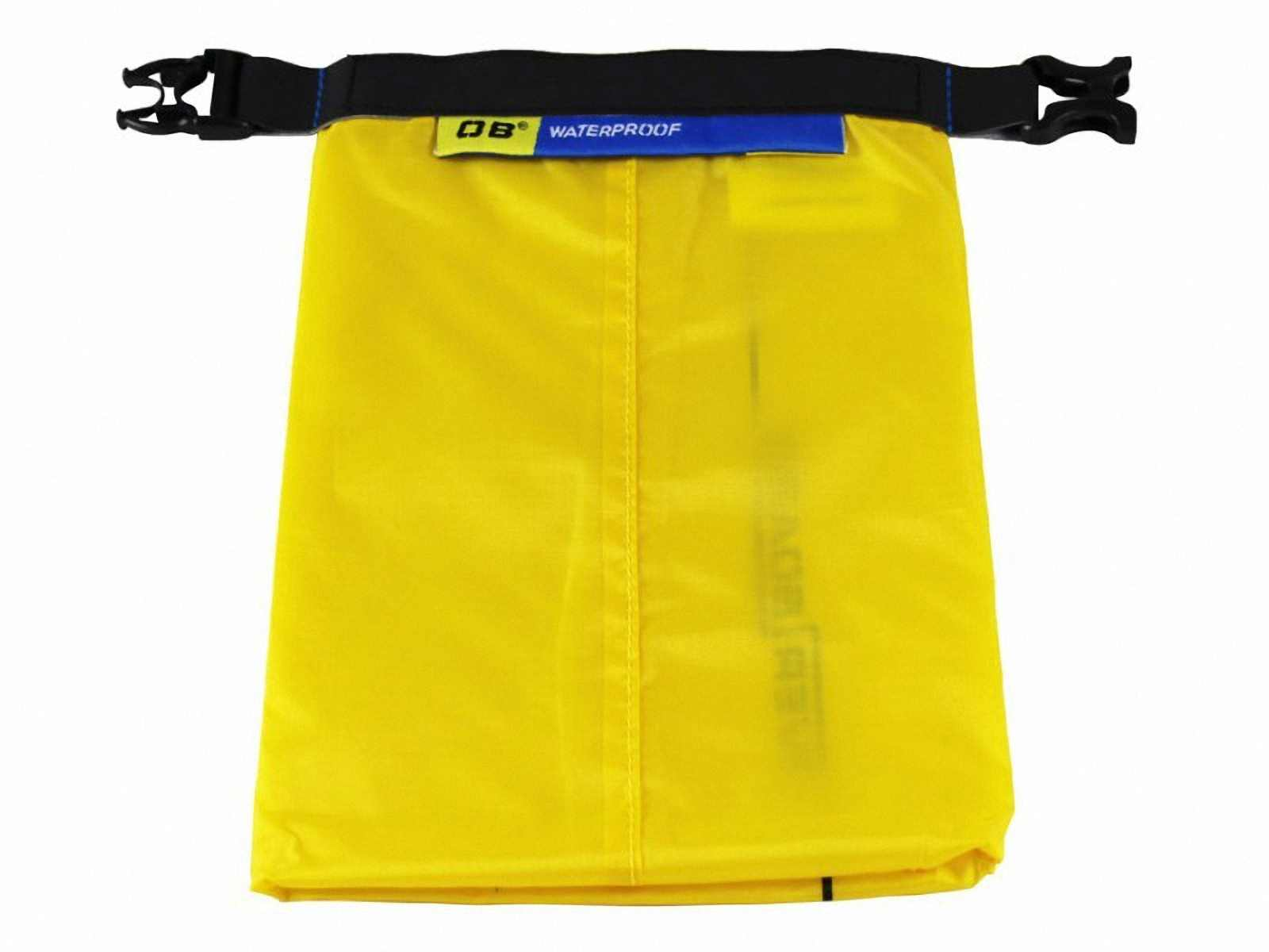 Водонепроницаемый гермомешок OverBoard OB1031Y - Waterproof Dry Pouch - 1 L. Фото 5