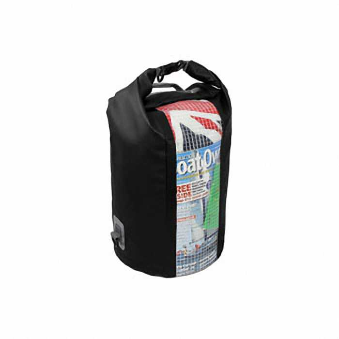 Водонероницаемая сумка OverBoard OB1058BLK - Waterproof Dry Tube Bag with Window - 30L.