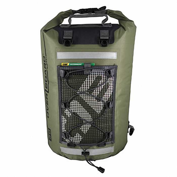 Водонепроницаемая сумка OverBoard OB1118G - Ultra-light Dry Tube Bag - 30L (Green)