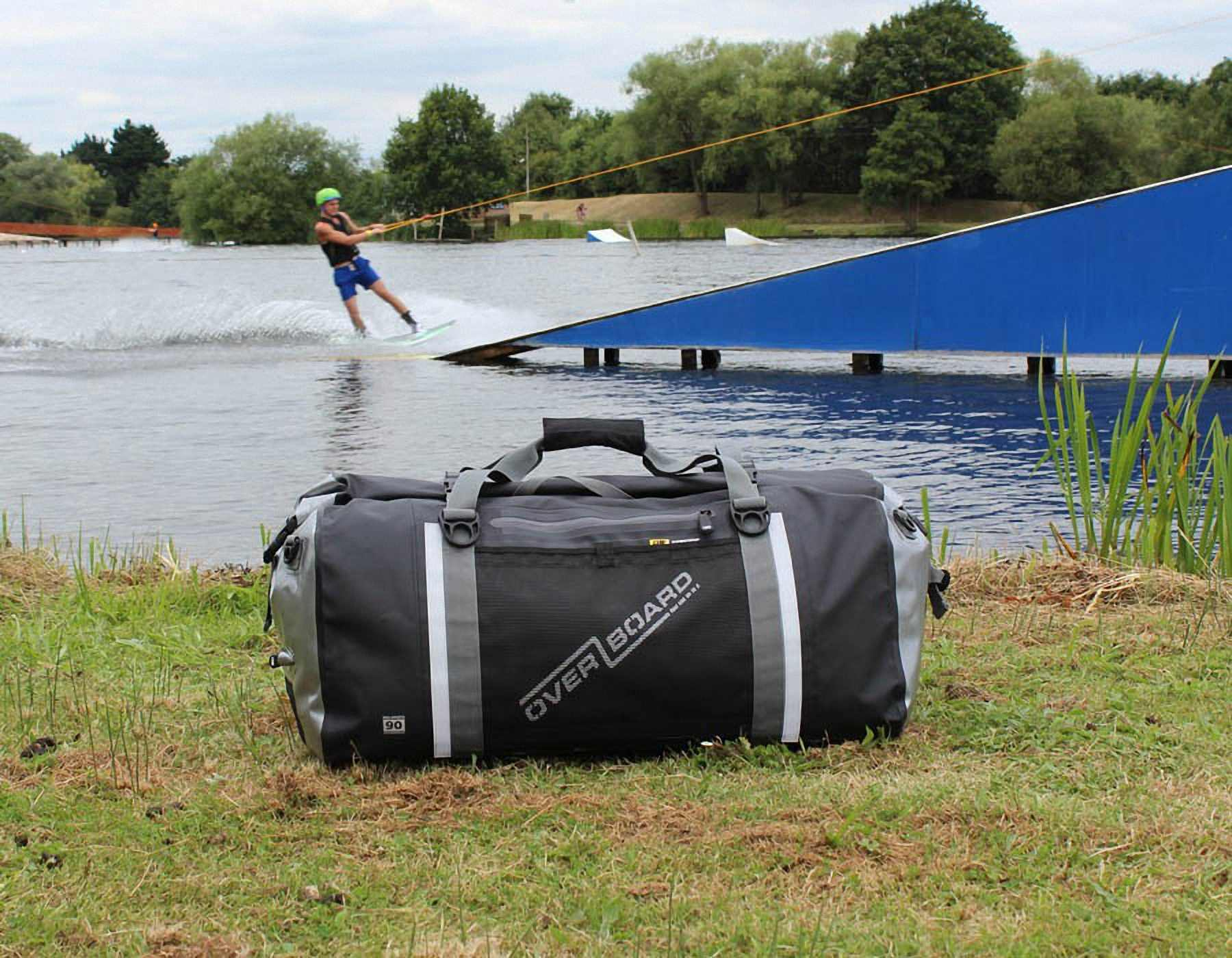 Водонепроницаемая сумка OverBoard OB1155BLK - Pro-Sports Waterproof Duffel Bag - 90 литров. Фото 10