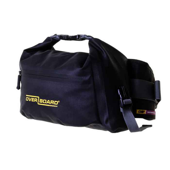Водонепроницаемая сумка OverBoard OB1164BLK - Pro-Light Waterproof Waist Pack - 4 Litres (Black)