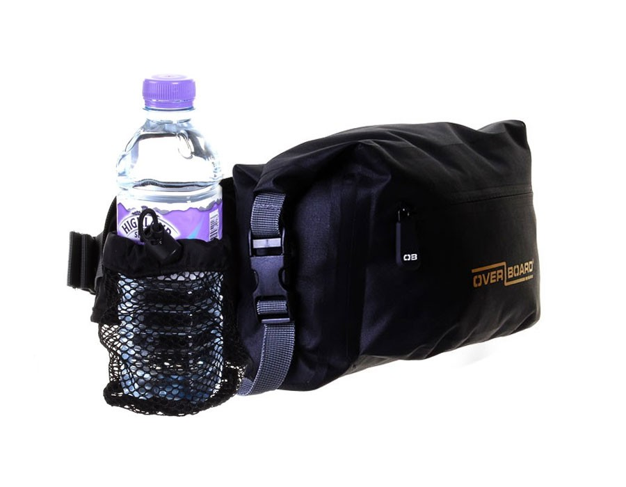Водонепроницаемая поясная сумка OverBoard OB1164BLK - Pro-Light Waterproof Waist Pack - 6 Litres_6