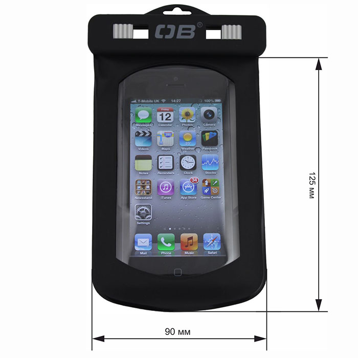 Водонепроницаемый чехол OverBoard OB1008BLK - Waterproof Phone Case (Black)