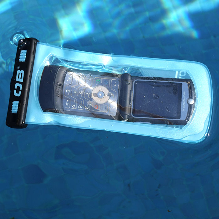 Водонепроницаемый чехол OverBoard OB1065A - Waterproof Large Phone Case (Aquamarine)