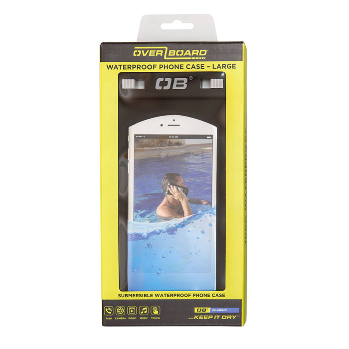 Водонепроницаемый чехол OverBoard OB1106BLK - Waterproof Large Phone Case (Black)