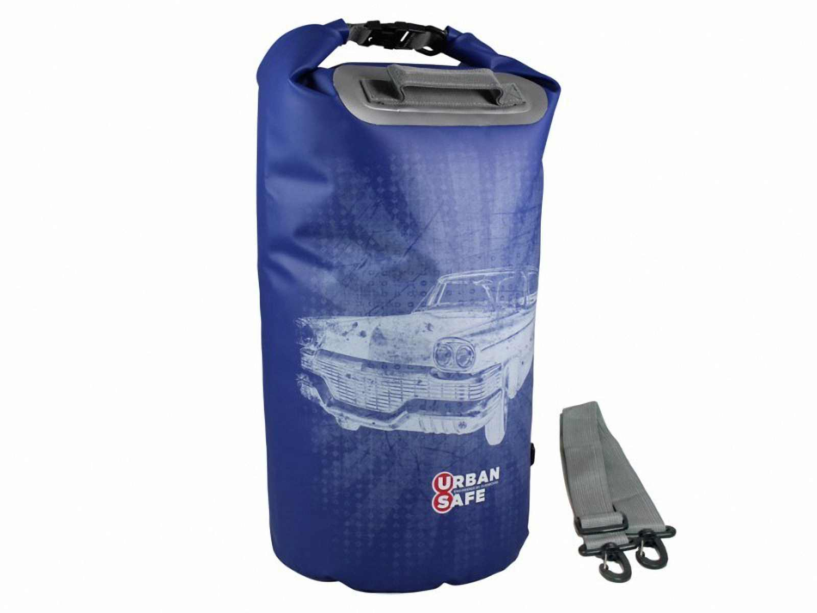 Водонепроницаемая сумка OverBoard US1005B-Chevy  - Waterproof Dry Tube Bag - 20L. Фото 2