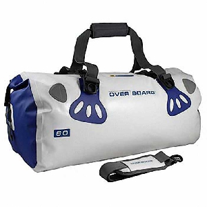 Водонепроницаемая сумка OverBoard OB1013WHT - Waterproof Boat Master Duffel Bag - 60 Litres.