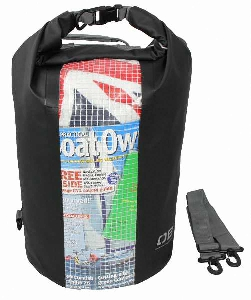 Водонероницаемая сумка OverBoard OB1058BLK - Waterproof Dry Tube Bag with Window - 30L. Фото 2