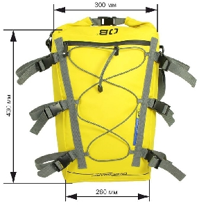 Водонепроницаемая сумка OverBoard OB1094Y - Waterproof Kayak Deck Bag - 20L (Yellow)